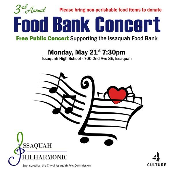 2018 Food Raiser Concert @ Issaquah High School   Issaquah   Washington   United States